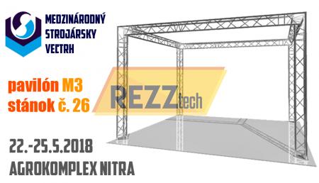 MSV Nitra 2018 - REZZtech s.r.o.